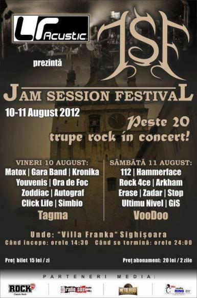 poze jam session festival sighisoara 2012