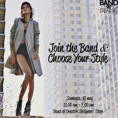 poze join the band and choose your style