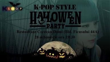 poze k pop halloween party