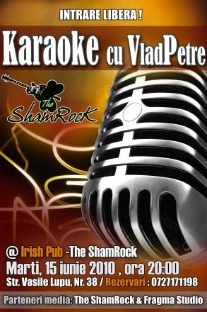 poze karaoke la the shamrock