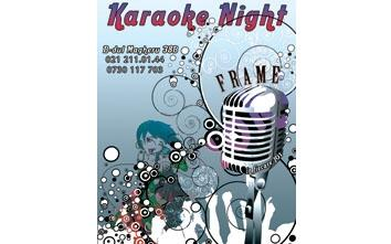 poze karaoke night in frame