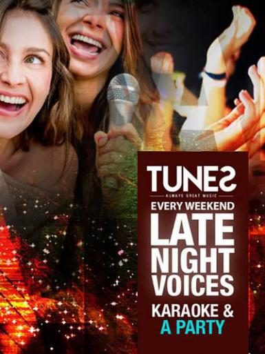poze karaoke saturday late night voices