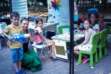 poze kids land fest greenfest