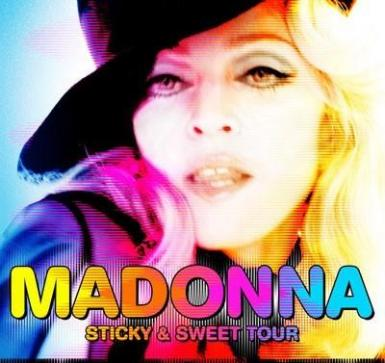 poze maddona sticky sweet tour