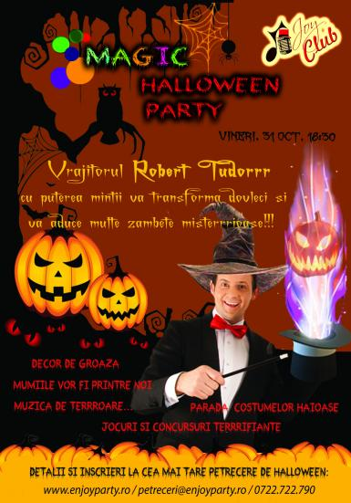 poze magic halloween party