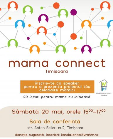 poze mama connect eveniment marca work at home moms
