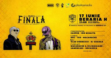 poze marea finala battle mc romania