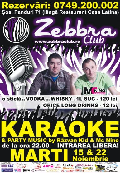 poze marti karaoke party by mc nino razvan kid club zebbra