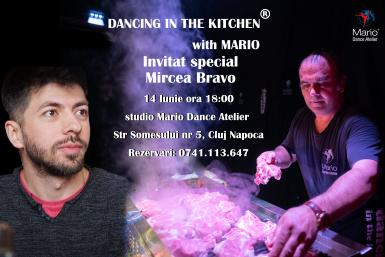 poze mircea bravo invitat la dancing in the kitchen