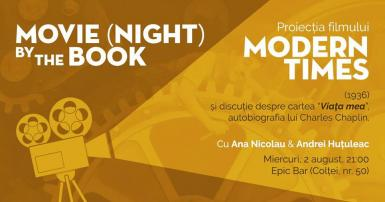 poze movie night by the book modern times