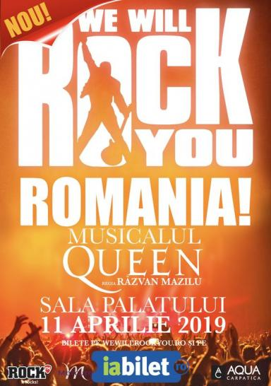 poze musicalul queen we will rock you