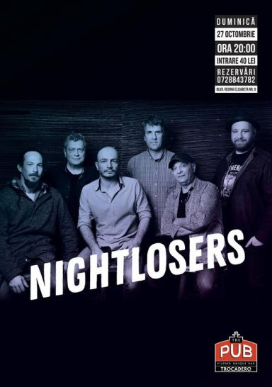 poze nightlosers live la the pub universitatii