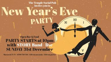 poze nye party with story at the temple social pub december 31