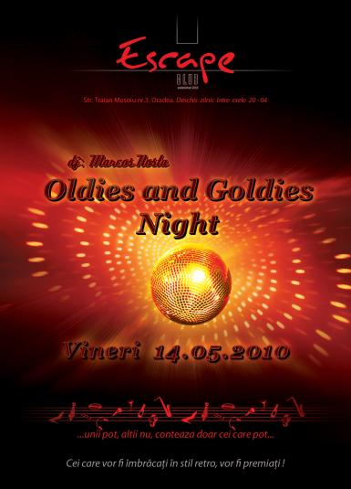 poze oldies and goldies night