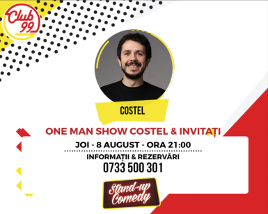 poze one man show costel raul si vlad