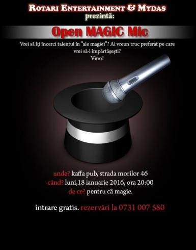 poze  open magic mic kaffa pub
