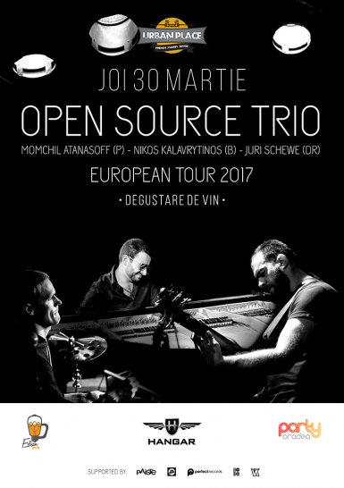 poze open source trio european tour 2017