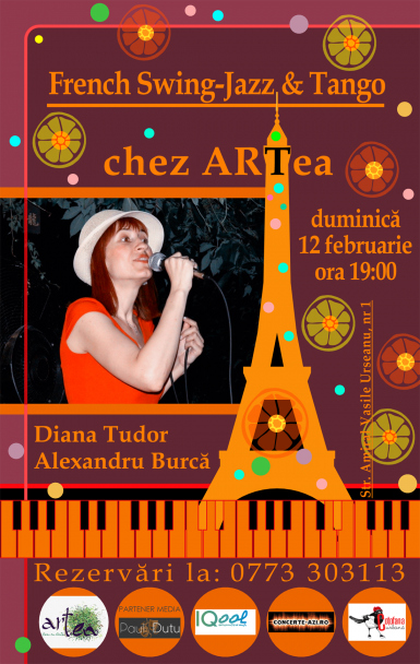 poze  paris mon amour concert live chansonete tango swing jazz