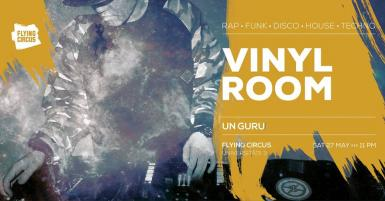 poze party vinyl room with un guru