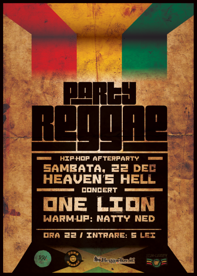 poze reggae party invitat one lion heaven s hell