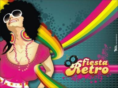 poze retro party
