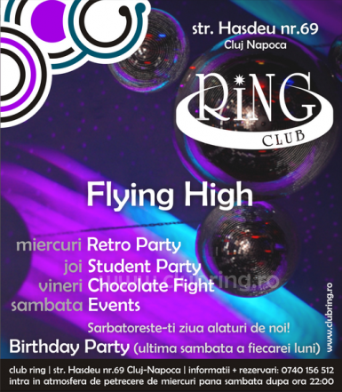 poze retro party in club ring din cluj