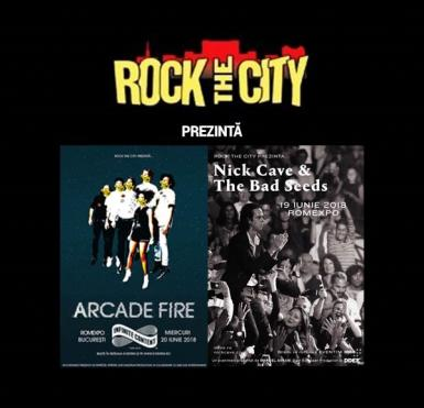 poze rock the city 2018