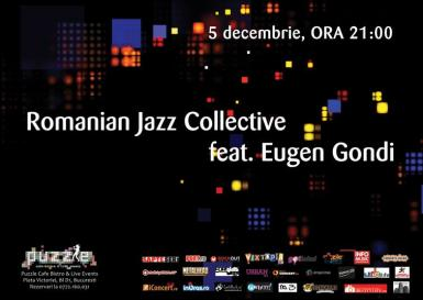 poze romanian jazz collective feat eugen gondi