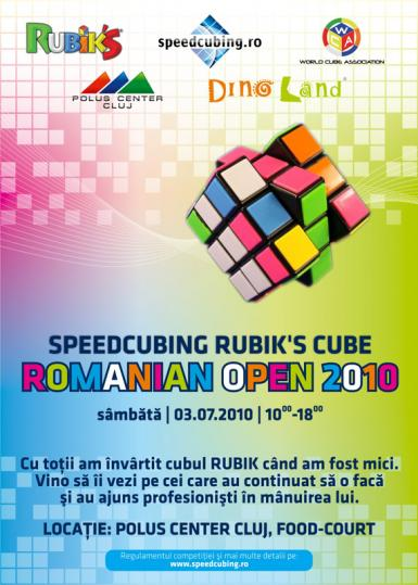 poze romanian open 2010 speedcubing rubik s cube polus center