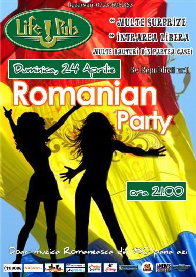 poze romanian party