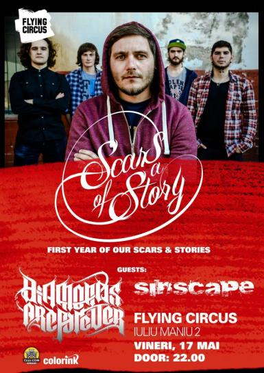 poze scars of a story concert aniversar in flying circus pub