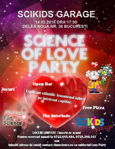 poze science of love party