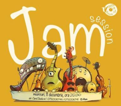poze seara de jam session in jazzbook club