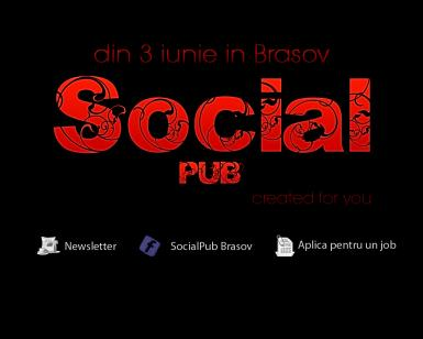 poze social pub opening party