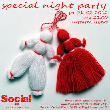 poze special night party in social pub