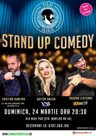 poze stand up comedy bucuresti duminica 24 martie old mike pub