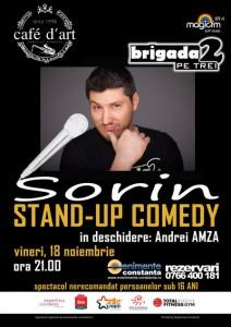 poze stand up comedy cu sorin in constanta