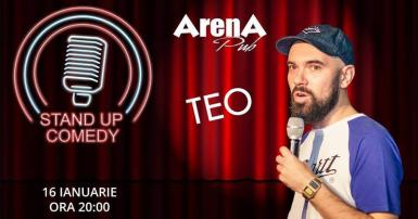 poze stand up comedy cu teo