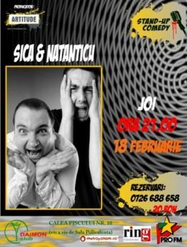 poze stand up comedy in daimon club din bucuresti