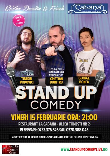 poze stand up comedy night vineri 15 februarie 2019