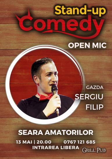 poze stand up comedy open mic seara amatorilor