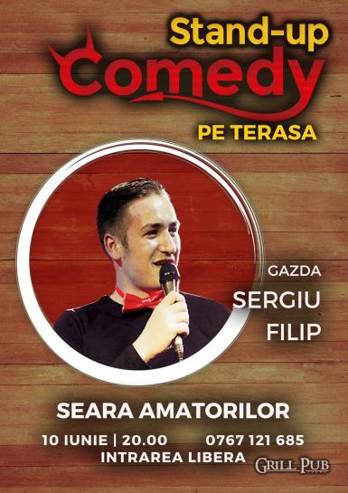 poze stand up comedy open mic seara amatorilor in grill pub