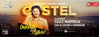 poze stand up comedy show costel la cluj napoca
