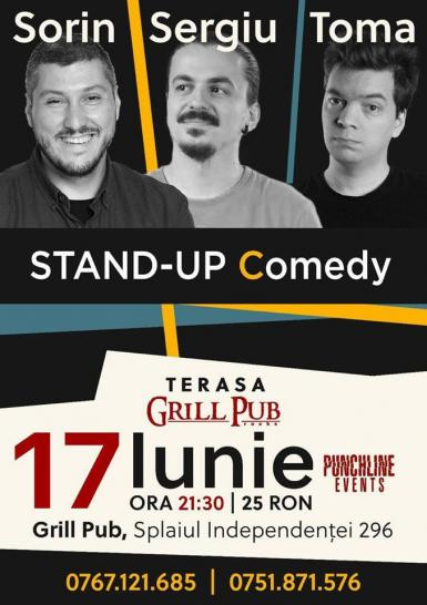 poze stand up comedy summer show grill pub