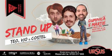 poze stand up cu teo vio si costel