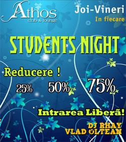 poze students night