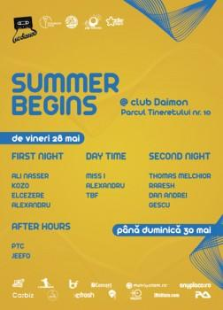 poze summer begins la daimon club din bucuresti