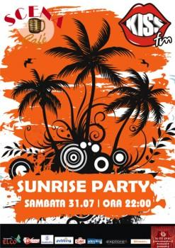 poze sunrise party la scena cafe