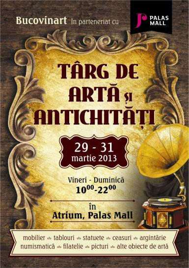 poze targ de arta i antichita i in week end la palas mall