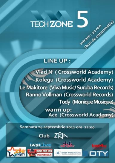 poze tech zone 5 party iasi